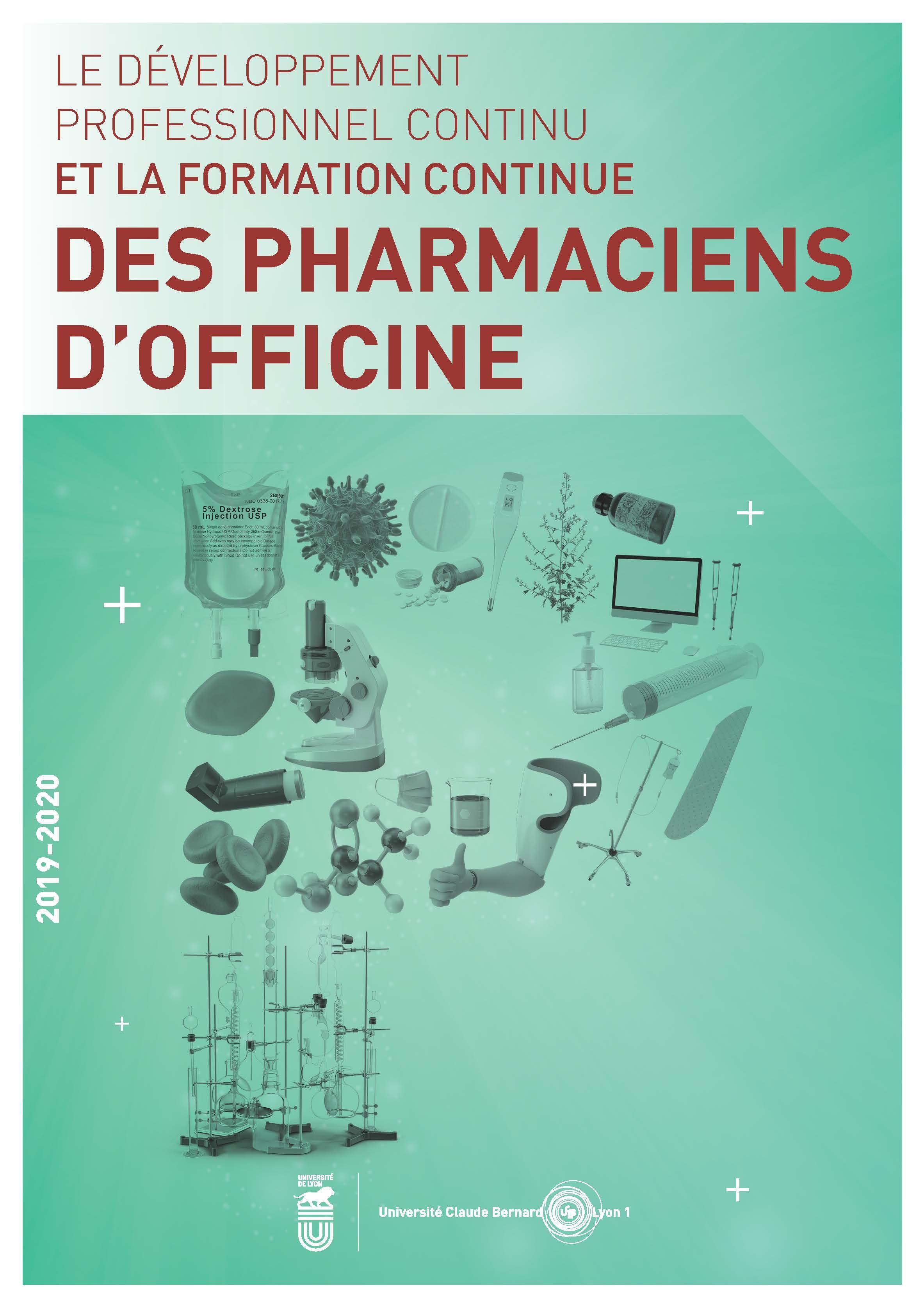 Brochure Pharmaciens 2019
